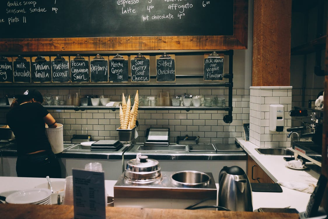 small coffee shop business